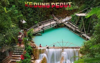 Wisata Air terjun Kedung Pedut Kulon Progo, Harga Tiket, Lokasi dan Fasilitas.