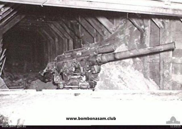 Bunker dan Meriam Jepang di Balikpapan