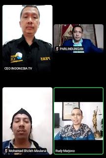 Doddy M Zuhdi, Pimpinan Media CEO Group  Jadi Nara Sumber Webinar Pelatihan Jurnalistik, Bersama Pakar Hukum