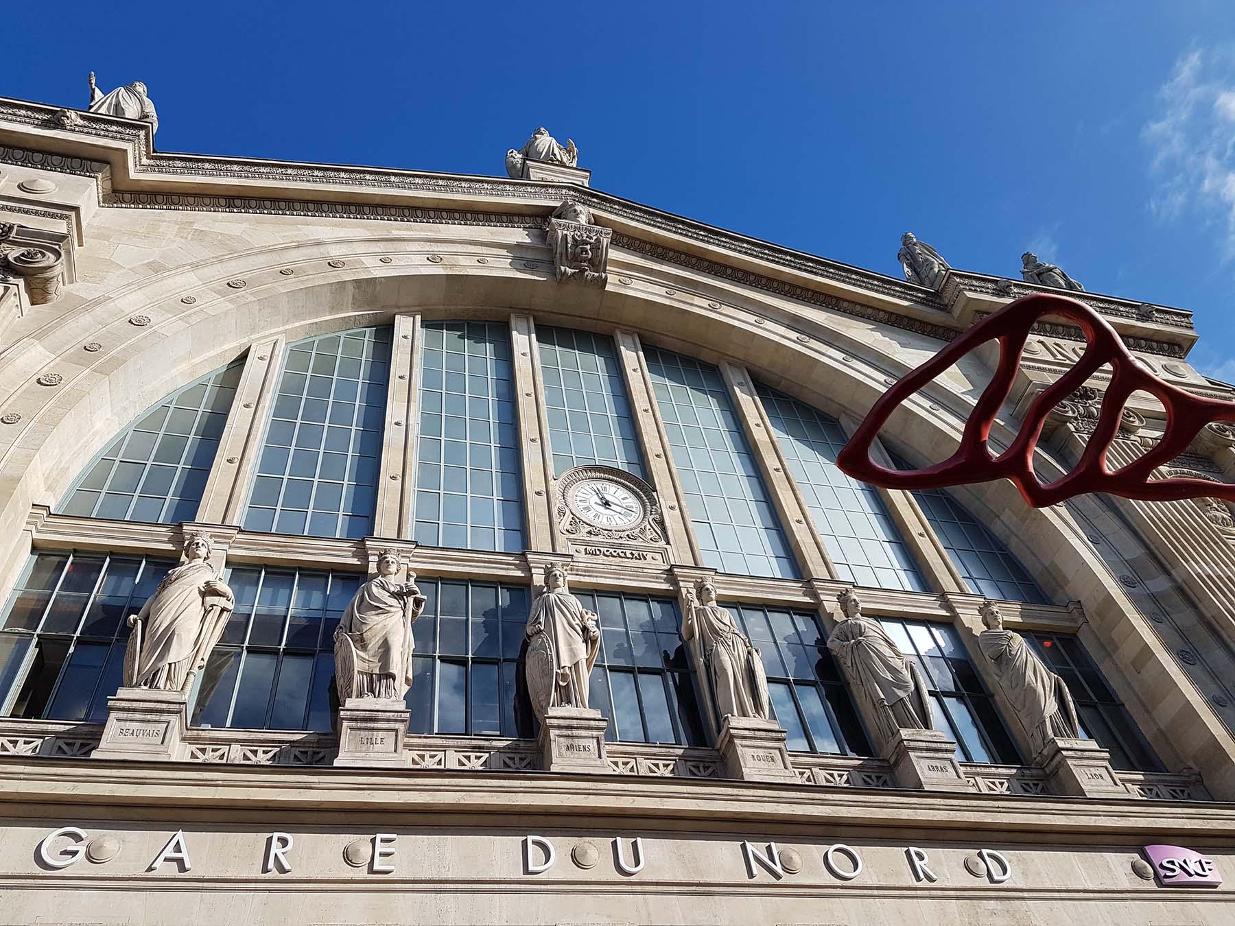 Gare du Nord, Paris, França