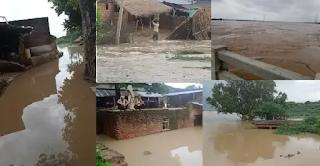 जालौन: बाढ़ का प्रलयंकारी रूप देख पंचनद क्षेत्र में हाहाकार