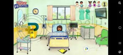 غرفة الولادة لعبة ماي بلاي هوم المستشفى