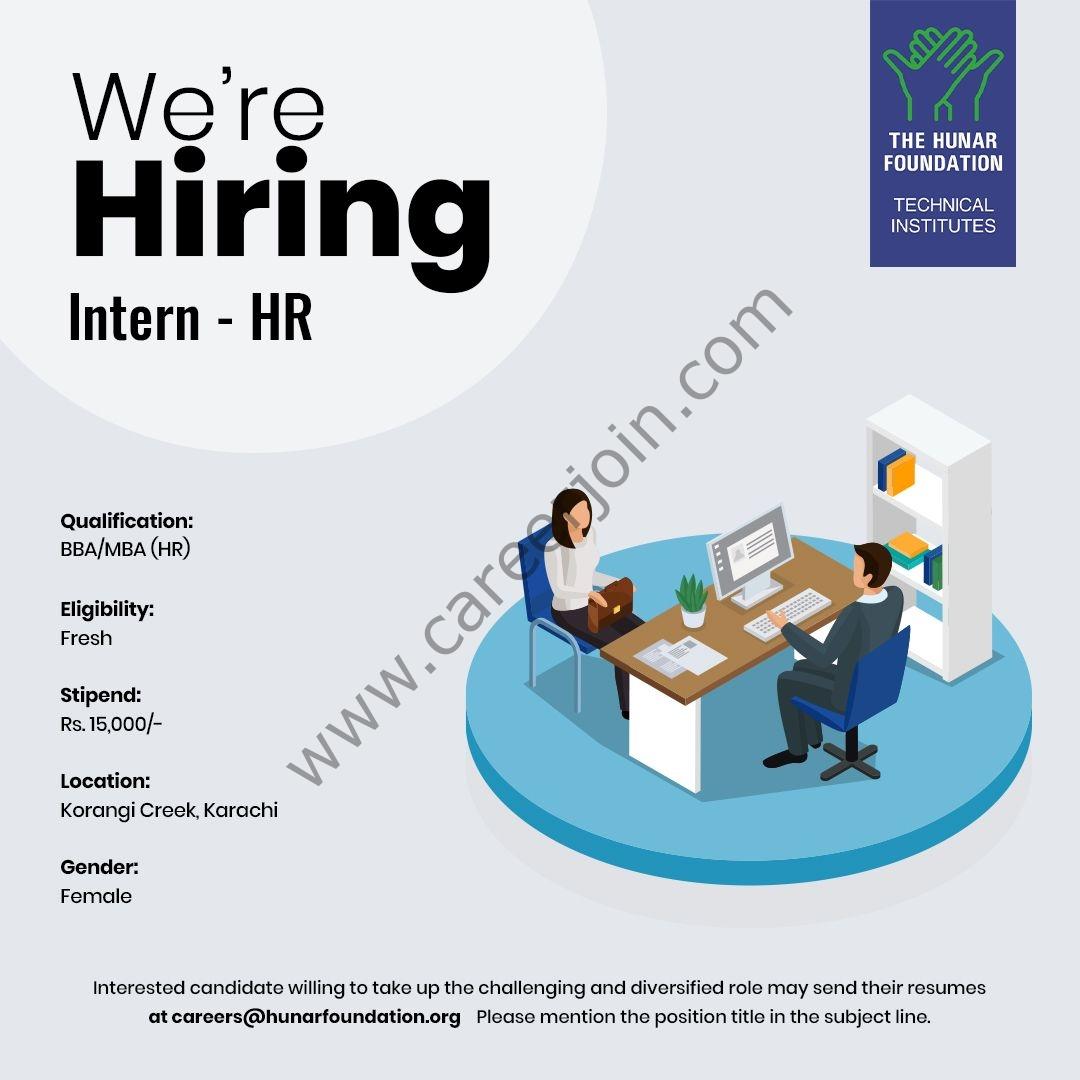 The Hunar Foundation Jobs September 2021