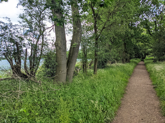 Flamstead restricted byway 57 - after point 3
