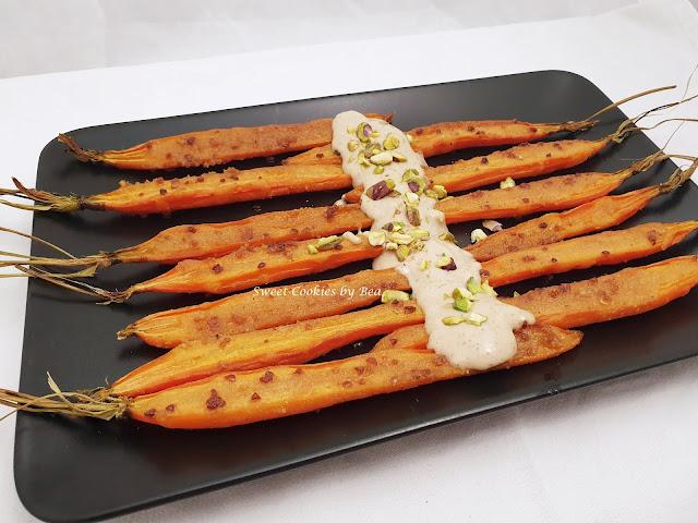 Zanahorias asadas con chispa