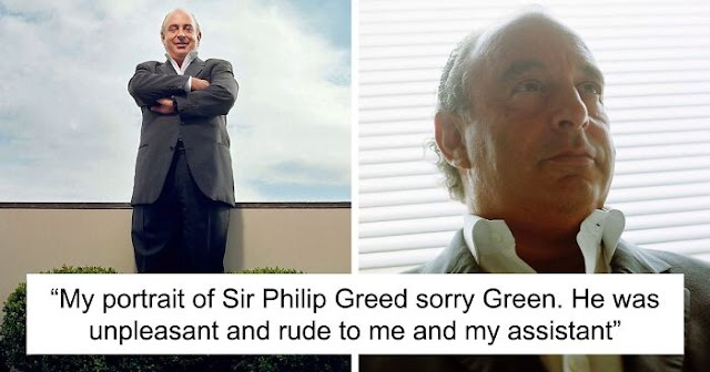 """""""Don't Piss Off Your Photographer"""": Photographer Got His Revenge On Sir Philip Green For Being Rude During The Photoshoot"""