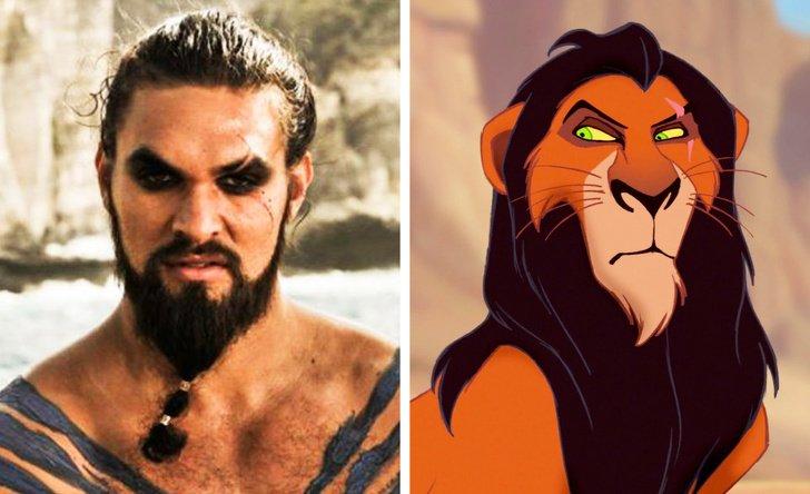Jason Momoa como Scar, de O Rei Leão