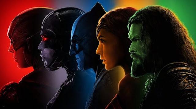 Presentan nuevos carteles de La Liga de la Justicia