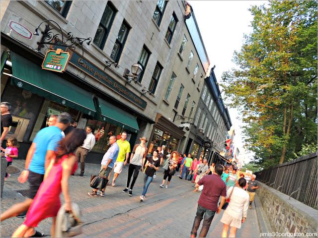 Calles del Viejo Quebec, Canadá