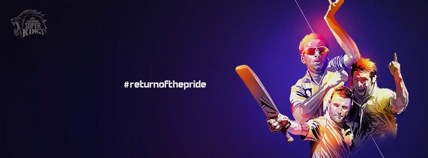 Chennai Super Kings - CSK: Chennai Super Kings facebook