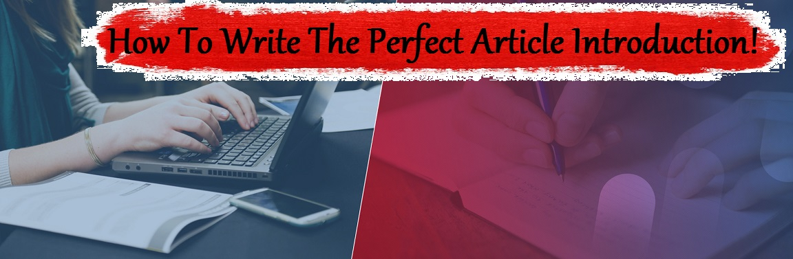 How to Start an Article Introduction