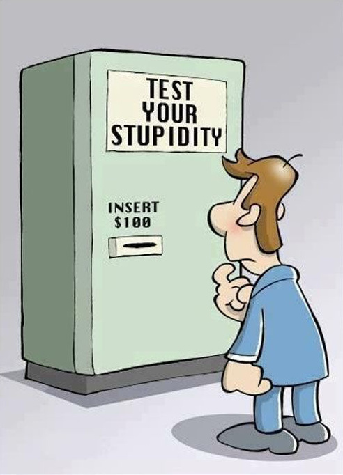 fun test stupidity humor