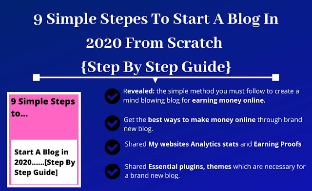Free Guide: How to Start A Blog in 2019 { Make Money Online }