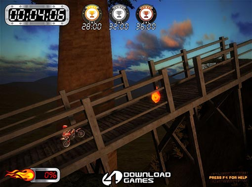 لعبة موتوسيكلات افريقيا Super Motocross Africa