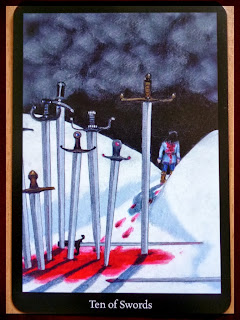 ten of swords Anna K Tarot