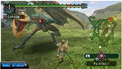 Monster Hunter Freedom Unite PPSSPP PSP