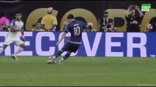 Magnifique Coup franc De Messi Face à USA en Copa America 2016.