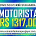 MOTORISTA HOSPITALAR COM SALÁRIO DE R$ 1317,00 PARA ATUAR NO RECIFE
