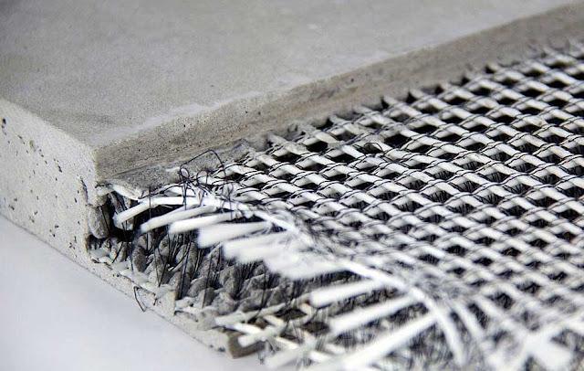 Inovasi Beton Masa Depan, Beton Tekstil