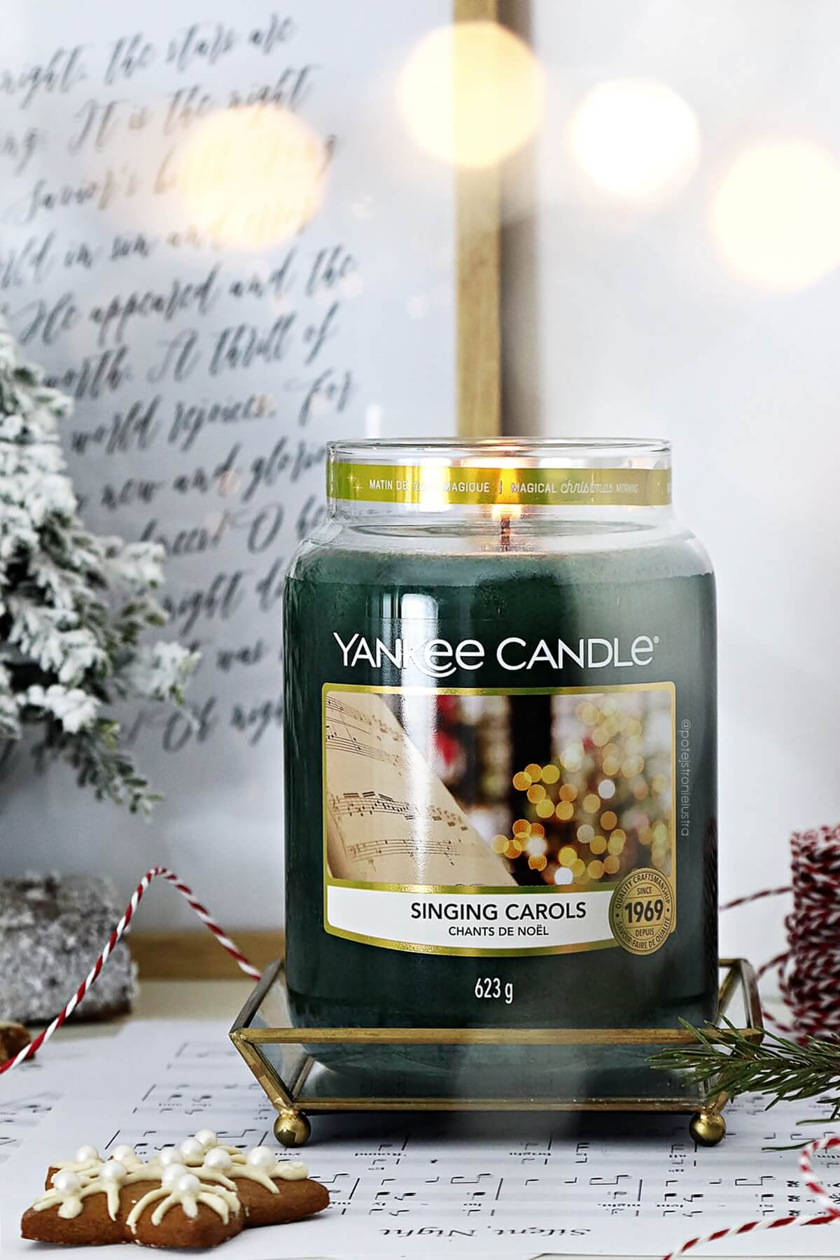 yankee candle singing carols święta 2020