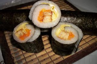 Resep Sushi Tempe