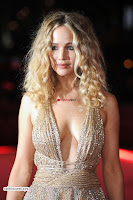 Jennifer Lawrence in a golde glittering gown at Red Sparrow Premiere in London ~  Exclusive Galleries 014.jpg