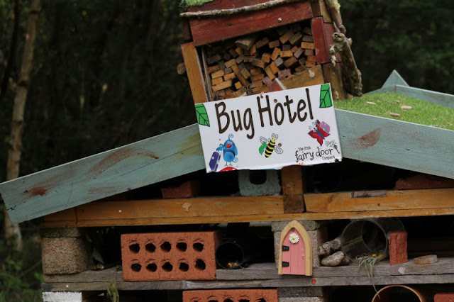 Bug Hotel at Lough Boora Discovery Park