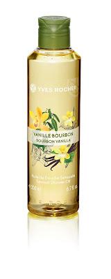 Aceite de Ducha SENSUAL Vainilla línea Plaisirs Nature Yves Rocher