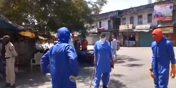 झाबुआ में कोरोना के 5 नए मरीज सामने आए, जिले में अघोषित कर्फ्यू