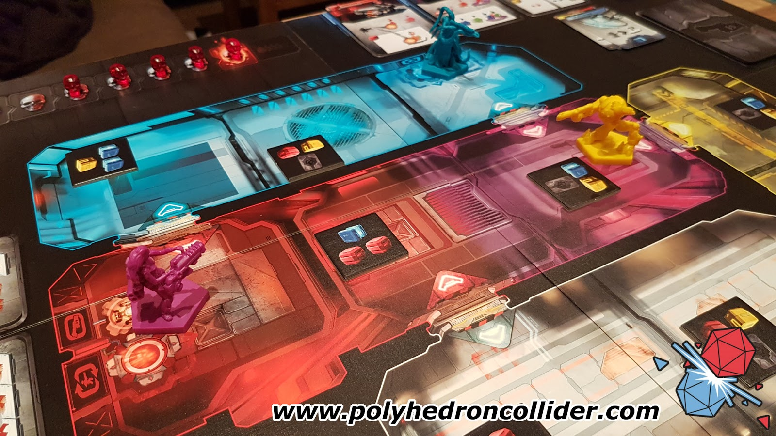 adrenaline FPS board game review