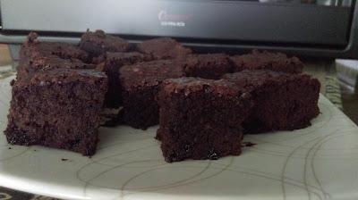 Fudge Brownies setelah dipanggang dengan Cosmoven CO-9926 CRG