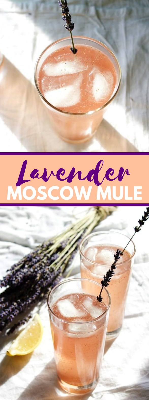 Lavender Moscow Mule #drinks #classicdrink