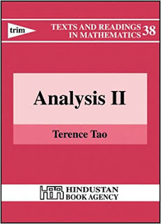 TEXTS AND READINGS IN MATHEMATICAL ANALYSIS-1 BY TERENCE TAO
