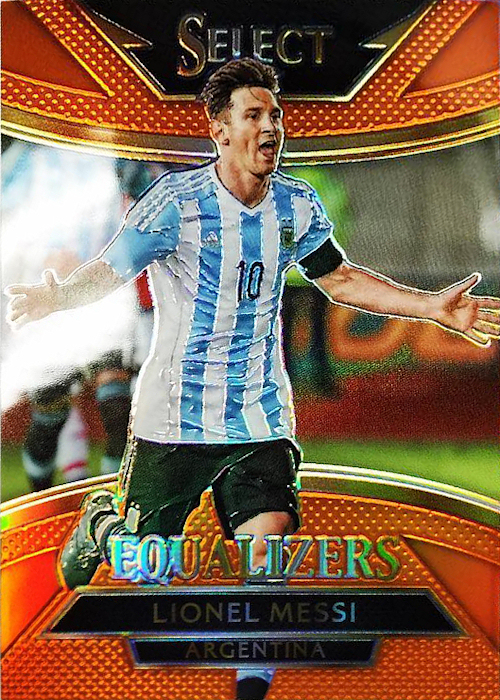 2015 2015-16 Panini Select Equalizers Naranja//149 #5 Alexis Sanchez Chile Novato