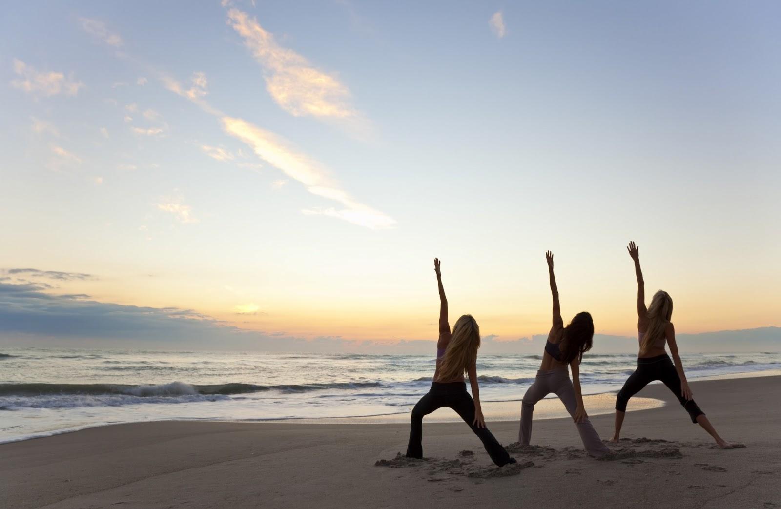 Free Wallpaper Dekstop Yoga Girls Wallpaper
