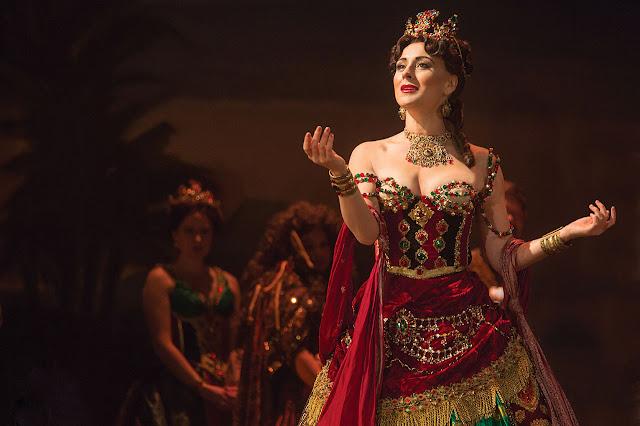 "Jacquelynne Fontaine w musicalu ""Hannibal""  Andrew Lloyda Webbera"