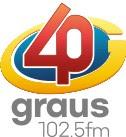 Rádio 40 Graus FM 102,5 de São José do Rio Preto SP
