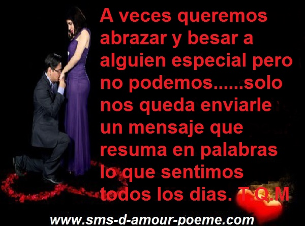 Mensajes De Amor Feliz Dia El Amor Mot Damour