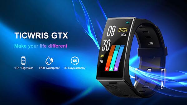 TICWRIS GTX - Uma smartband com design interessante