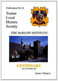 Turton Local History Society #32 - The Barlow Institute