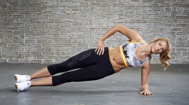 How to make the side plank correctly