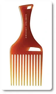 Cricket Ultra Smooth Hair Pick Comb infused with Argan Oil, Olive Oil and Keratin by Cricket