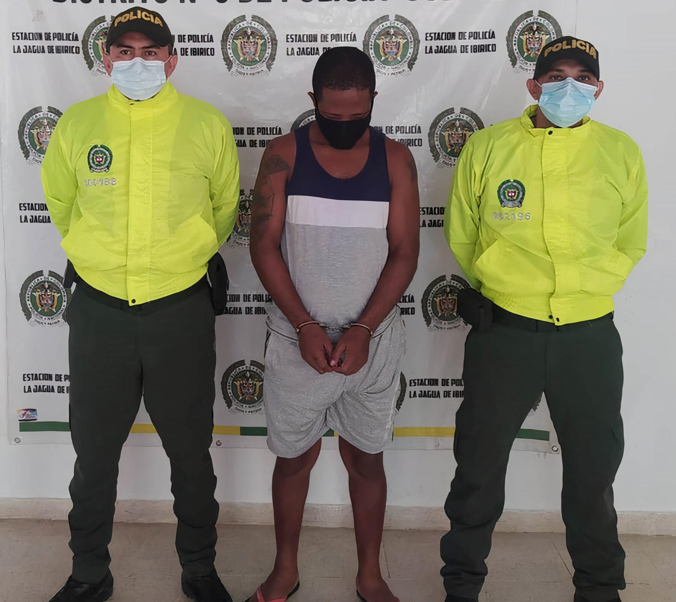 hoyennoticia.com, Capturado por homicidio en La Jagua de Ibirico