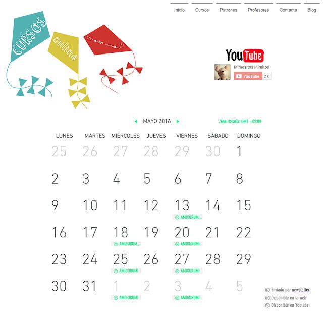 cursos online gratis, amigurumi, encuadernación, bordado, tutoriales DIY