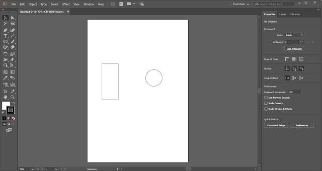 Heart Shape in Adobe Illustrator