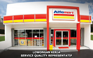 Lowongan Kerja Service Quality Representatif Alfamart Cabang Pontianak