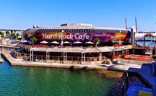 Hard Rock Cafe em Miami