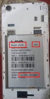 Lava Iris 88 Flash File all version without password With DA File Fix Lcd
