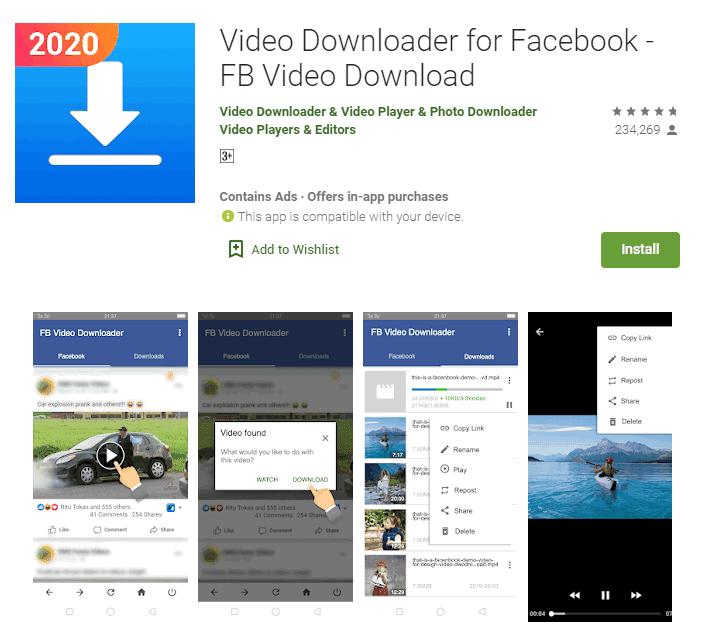 كيفيه تنزيل فيديو من الفيس بوك بجودة عالية (طريقتين مختلفتين)