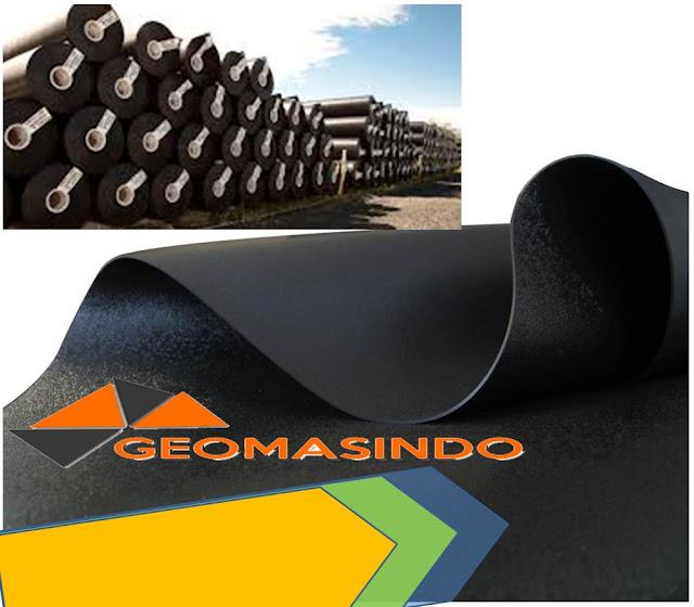 Distributor Geomembrane HDPE peredam suara murah dan berkualitas di Indonesia
